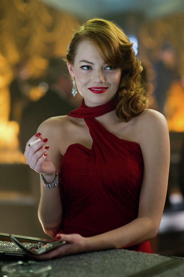 "Emma Stone as Grace Faraday in Warner Bros. Pictures' and Village Roadshow Pictures' drama  ""Gangster Squad,' a Warner Bros. Pictures release. Photo: Wilson Webb, Warner Brothers / ©2013 Warner Bros. Entertainment Inc. - - U.S., Canada, Bahamas & Bermuda ©2013 Village Roadshow Films (BVI) Limited - - All Other Territories"