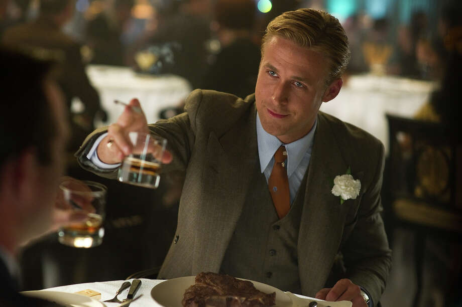 """Ryan Gosling as Sgt. Jerry Wooters in Warner Bros. Pictures' and Village Roadshow Pictures' drama  """"Gangster Squad,' a Warner Bros. Pictures release. Photo: Wilson Webb, Warner Brothers / ©2013 Warner Bros. Entertainment Inc. - - U.S., Canada, Bahamas & Bermuda ©2013 Village Roadshow Films (BVI) Limited - - All Other Territories"""