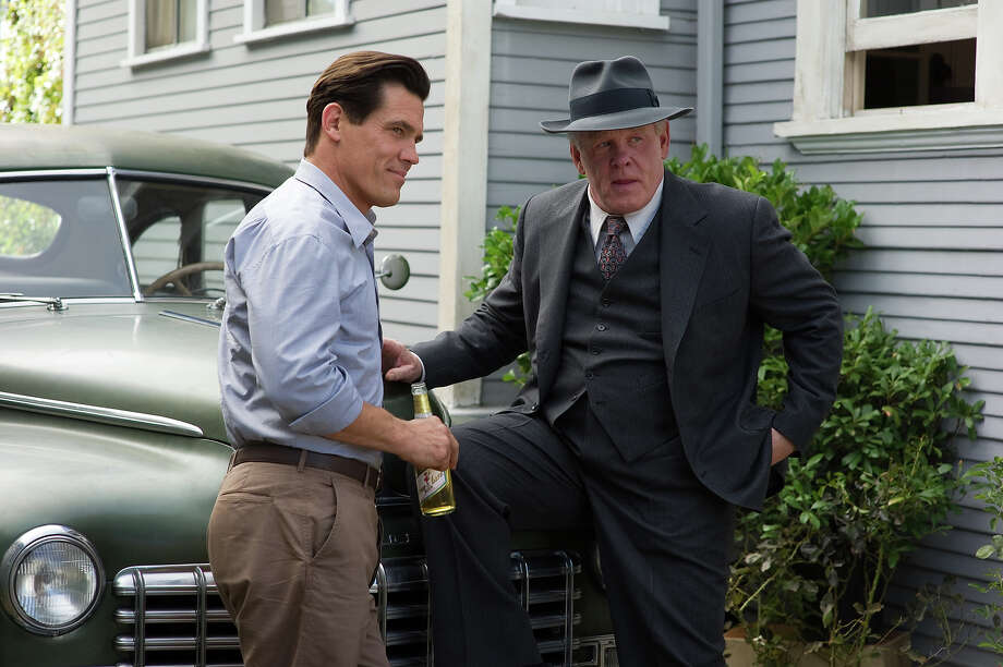 "Josh Brolin as Sgt. John O'Mara and Nick Nolte as Chief Parker in Warner Bros. Pictures' and Village Roadshow Pictures' drama  ""Gangster Squad,' a Warner Bros. Pictures release. Photo: Wilson Webb, Warner Brothers / ©2013 Warner Bros. Entertainment Inc. - - U.S., Canada, Bahamas & Bermuda ©2013 Village Roadshow Films (BVI) Limited - - All Other Territories"
