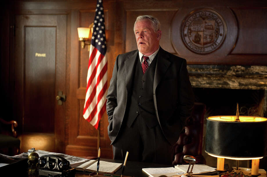 "Nick Nolte as Chief Parker in Warner Bros. Pictures' and Village Roadshow Pictures' drama  ""Gangster Squad,' a Warner Bros. Pictures release. Photo: Wilson Webb, Warner Brothers / ©2013 Warner Bros. Entertainment Inc. - - U.S., Canada, Bahamas & Bermuda ©2013 Village Roadshow Films (BVI) Limited - - All Other Territories"