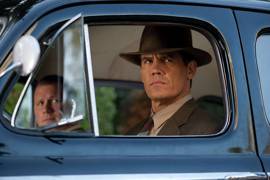 "Mick Betancourt, left, as Detective Sgt. Will Hendricks and Josh Brolin as Sgt. John O'Mara in Warner Bros. Pictures' and Village Roadshow Pictures' drama  ""Gangster Squad,' a Warner Bros. Pictures release. Photo: Wilson Webb, Warner Brothers / ©2013 Warner Bros. Entertainment Inc. - - U.S., Canada, Bahamas & Bermuda ©2013 Village Roadshow Films (BVI) Limited - - All Other Territories"