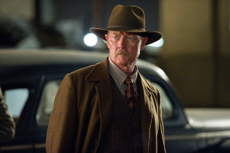 "Robert Patrick as Officer Max Kennard in Warner Bros. Pictures' and Village Roadshow Pictures' drama  ""Gangster Squad,' a Warner Bros. Pictures release. Photo: Wilson Webb, Warner Brothers / ©2013 Warner Bros. Entertainment Inc. - - U.S., Canada, Bahamas & Bermuda ©2013 Village Roadshow Films (BVI) Limited - - All Other Territories"