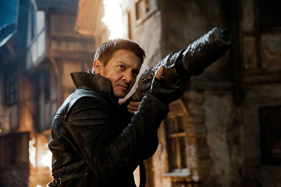 "Jeremy Renner says his new film offers ""a nice escape from what I've been doing, the intense characters."" Photo: Paramount Pictures"