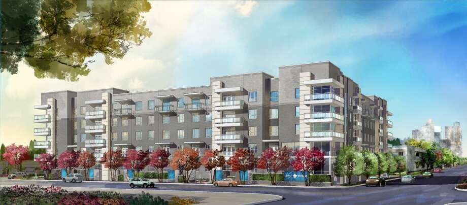 Pearl Midtown, Morgan Group's 154-unit apartment complex, is expected to open next year.