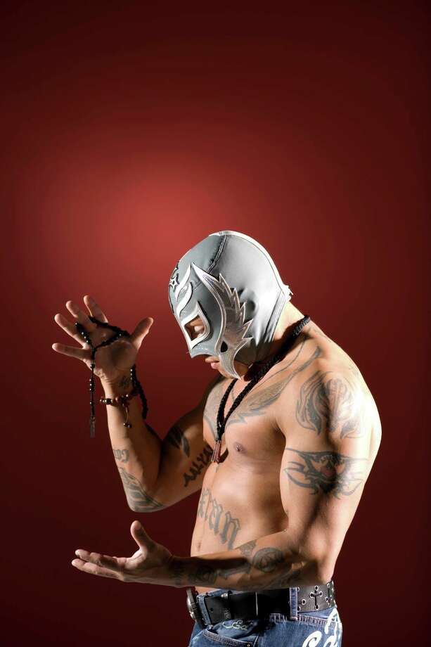 Rey Mysterio was a huge star in Mexico before becoming a hit in North America with WCW and then WWE. Photo: Nick De La Torre, Houston Chronicle / Houston Chronicle