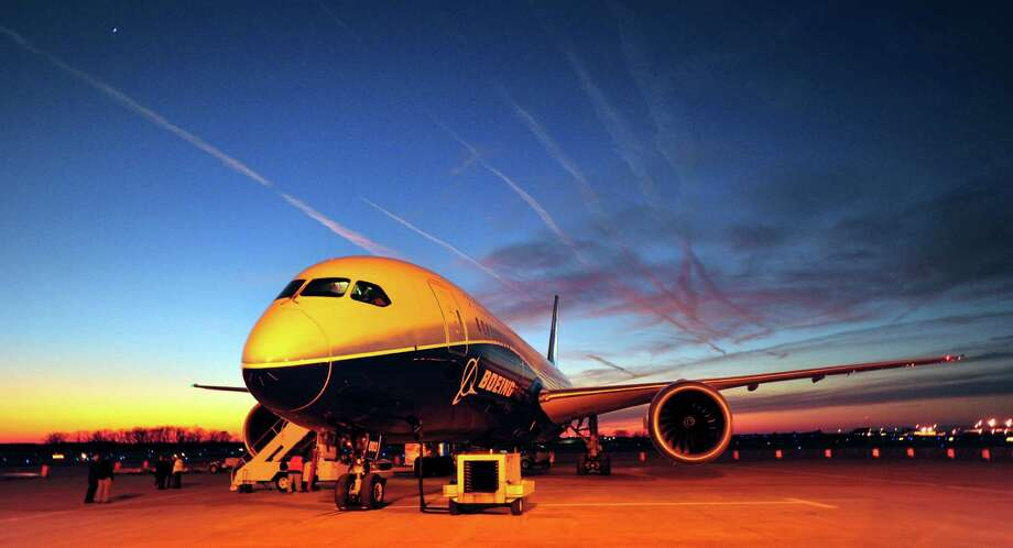 Most expensive airports: No. 1, Huntsville: In this Jan. 27, 2012, file photo, Boeing's newest aircraft, the Boeing 787, sits on the tarmac at Huntsville International Airport after a 3600-mile flight from Dublin, in Huntsville, Ala.  Photo: Eric Schultz, MBI / The Huntsville Times