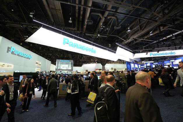IMAGE DISTRIBUTED FOR PANASONIC - A view of the Panasonic booth at The 2013 International Consumer Electronics Show, on Tuesday, Jan. 08, 2013, in Las Vegas, NV. (Photo by Al Powers/Invision for Panasonic/AP Images) Photo: Powers Imagery, Associated Press / Invision