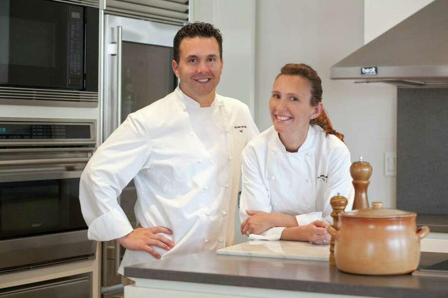 James and Jennifer Vellano, co-owners of Maison Privé Chefs, moved their catering business from New York City to Greenwich in 2012. The company, which also offers custom delivery of food, focuses on using organic and locally grown produce. Photo: Contributed Photo