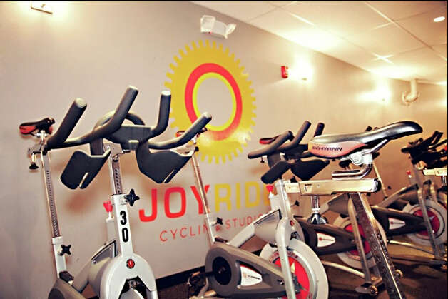 JoyRide, which is schedule to open a location at the Goodwives Shopping Center in Darien, offers structured classes and incorporates music into the workouts. Photo: Contributed