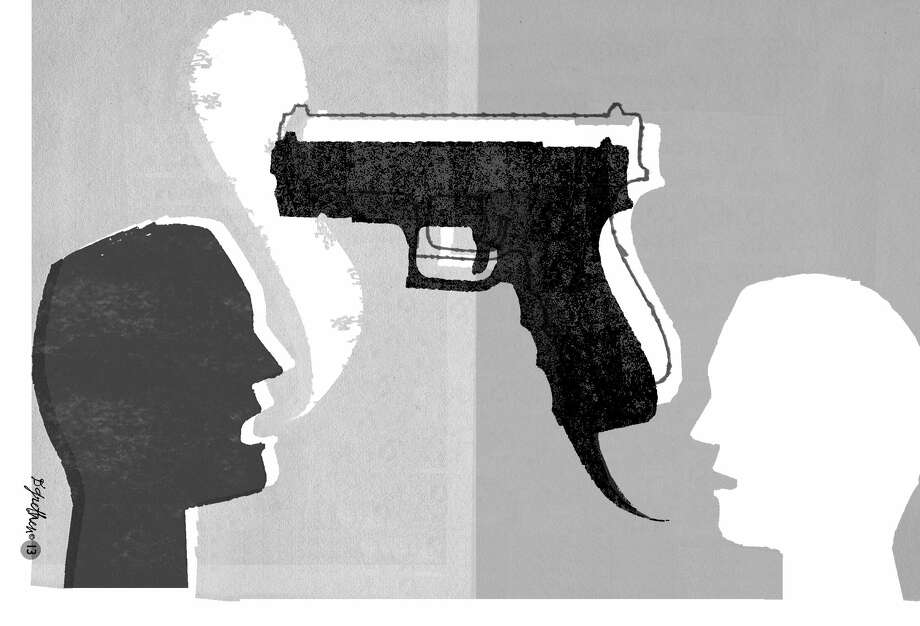 Gun graphic Photo: The (Stamford) Advocate