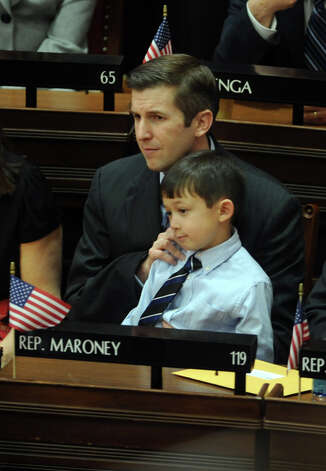 State Rep. James Maroney (D-Milford) attends opening day of the State Legislature at the Capitol Building in Hartford, Conn. Wednesday, Jan. 9, 2013. Photo: Autumn Driscoll / Connecticut Post
