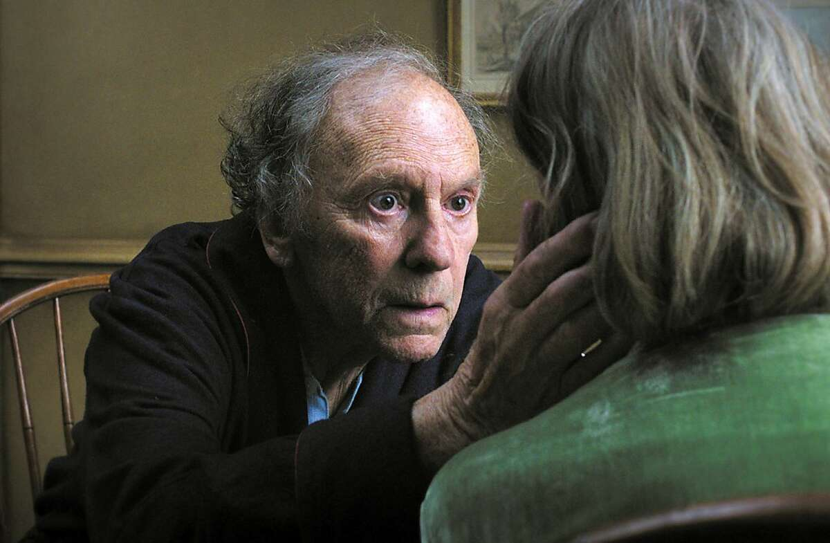 This film image released by Sony Pictures Classics shows Jean-Louis Trintignant in a scene from the Austrian film,
