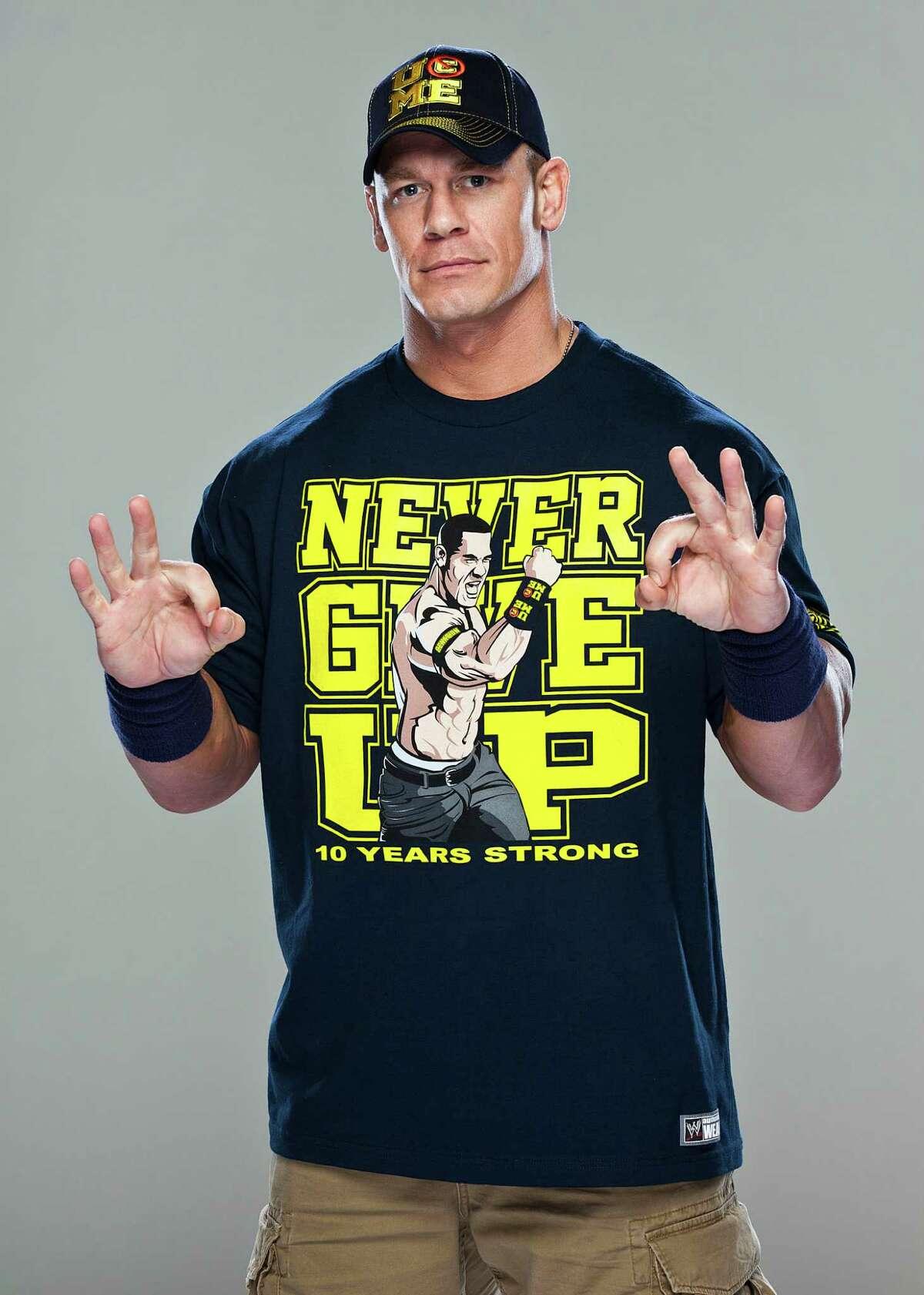 John Cena of WWE Raw