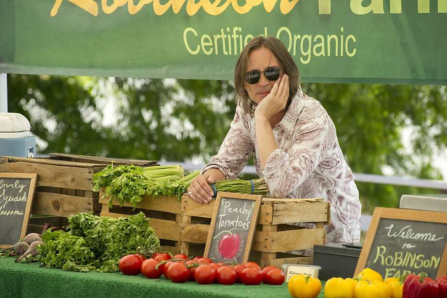 "Lachlan (Robert Carlyle) earns a living on an organic farm in ""California Solo."" Photo: Matthew Barnes, Strand Releasing"