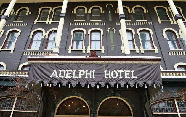 The Adelphi Hotel in Saratoga Springs hosts a pre-renovation estate sale Wednesday Jan. 9, 2012.  (John Carl D'Annibale / Times Union) Photo: John Carl D'Annibale / 00020713A