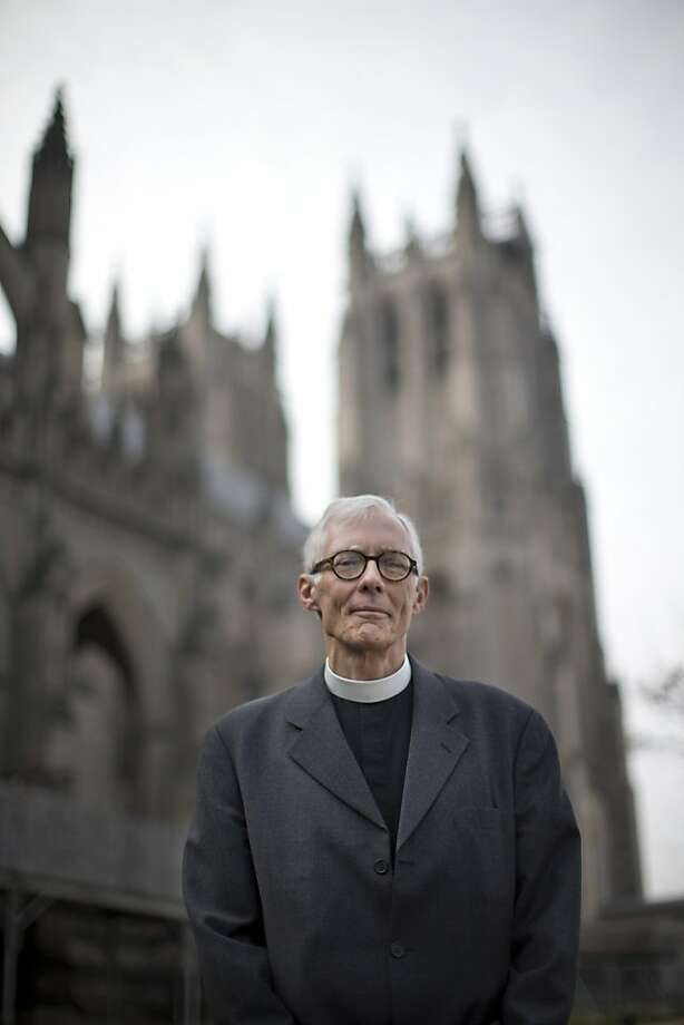 The Very Rev. Gary Hall of the Washington National Cathedral says the issue is more theological than political. Photo: Evan Vucci, Associated Press