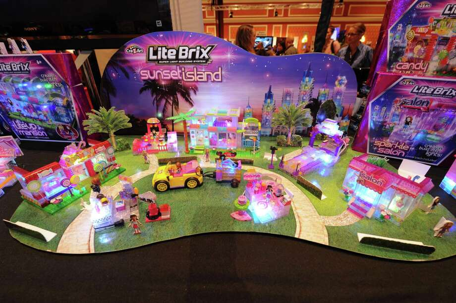 An overview of Lite Brix construction sets. Photo: Powers Imagery, Associated Press / Invision