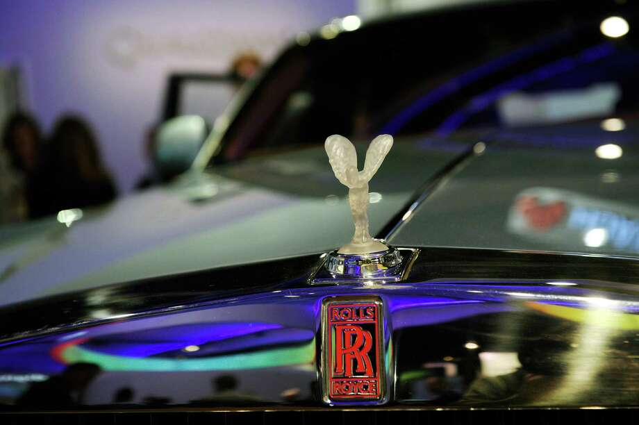 An electric powered Rolls Royce is displayed at the Quailcomm2013 International CES at the Las Vegas Convention Center on Wednesday. Photo: David Becker, Getty Images / 2013 Getty Images