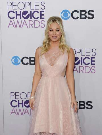 All the hot stars like Kaley Cuoco are at the  People's Choice Awards at Nokia Theatre L.A. Live on Jan. 9, 2013 in Los Angeles, California. Photo: Jason Merritt, Getty Images / 2013 Getty Images