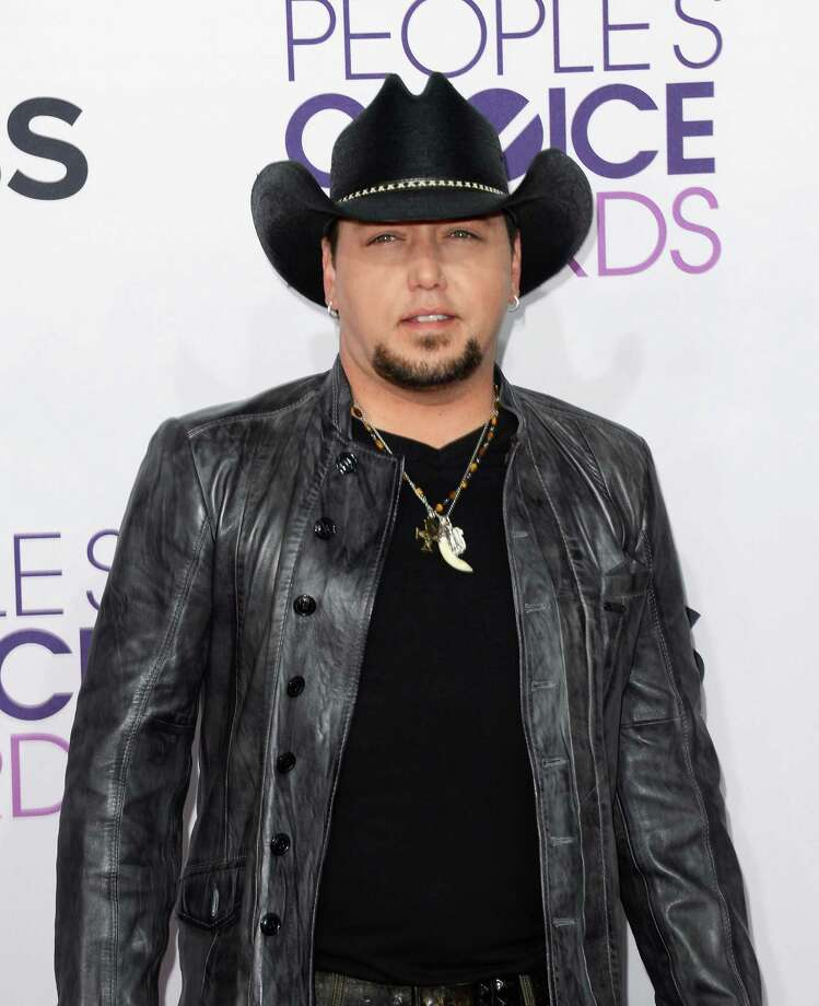 Country star  Jason Aldean rocks all black.  Photo: Jason Merritt, Getty Images / 2013 Getty Images