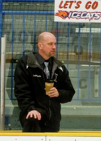 BBD Icecats hockey team head coach Richard Granacker. Photo: Scott Mullin / The News-Times Freelance