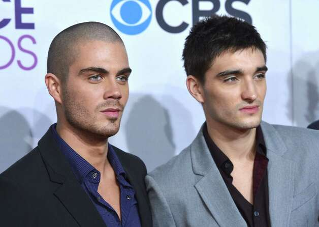 Singers Max George (left)  and Tom Parker of The Wanted . Photo: Frazer Harrison, Getty Images For PCA / 2013 Getty Images