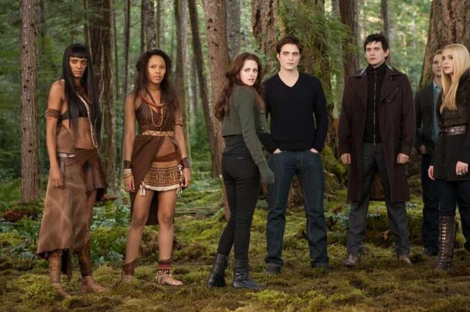 Yeah, yeah, yeah. We know 'Lincoln' and 'Zero Dark Thirty' are going rake in a bunch of Oscar nominations. So let's have some fun and scrape the bottom of the barrel to present the 2013 Razzie nominations for the worst movies and actors of the year. 'The Twilight Saga: Breaking Dawn Part 2' led the 33rd Golden Raspberry Awards with 11 nominations, including 'worst picture.' Click the slideshow to see what other horridness was nominated Wednesday.  (file photo)