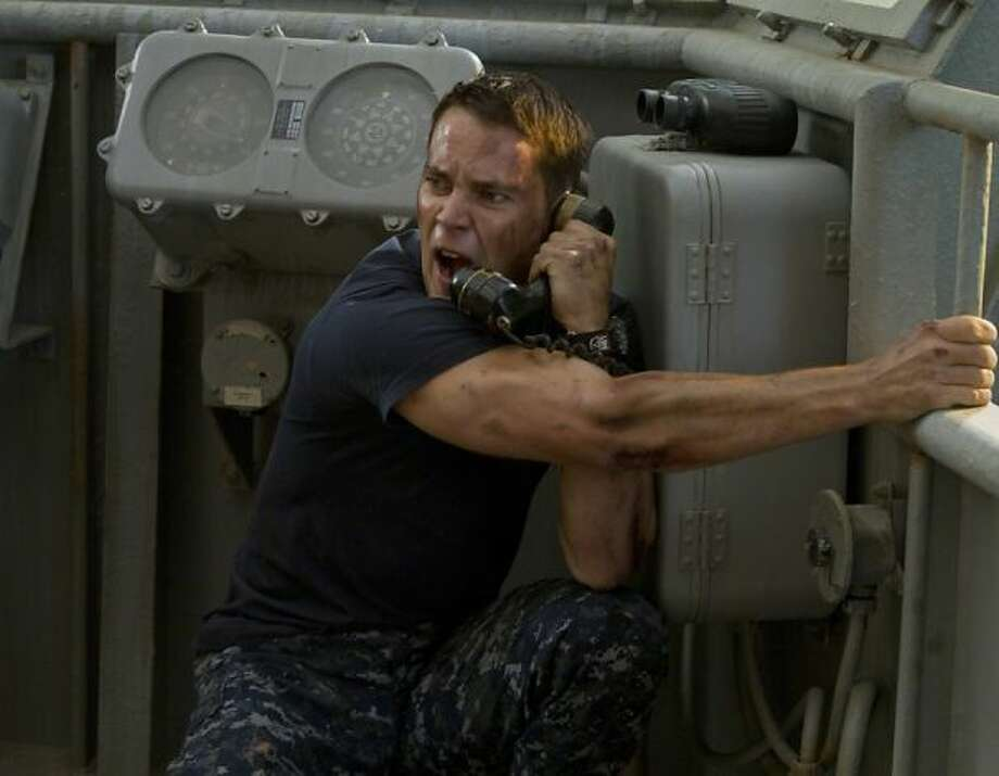 Worst picture nominee: 'Battleship'. This was supposed to be part of Taylor Kitsch's break-out year. Or not. It should have remained a board game.  (file photo)