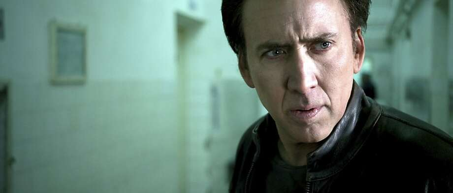 Worst actor nominee: Nicolas Cage, in 'Ghost Rider: Spirit of Vengeance.'  (Columbia)