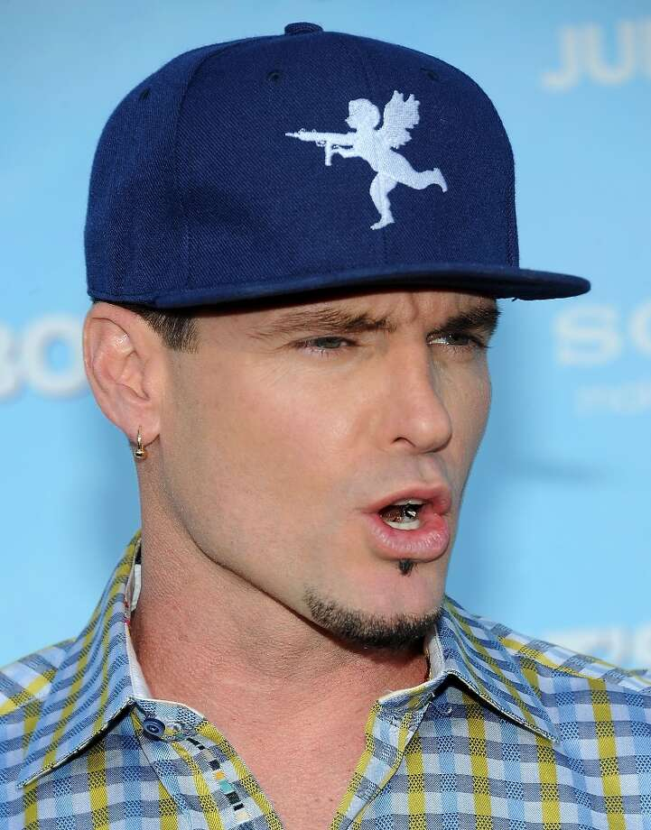 Worst supporting actor nominee: Vanilla Ice (Robert Van Winkle), in 'That's My Boy.' No surprise here. Photo: AFP, AFP/Getty Images / 2012 AFP
