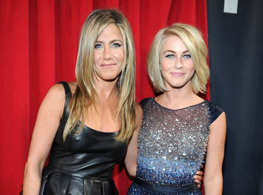 Jennifer Aniston and Julianne Hough