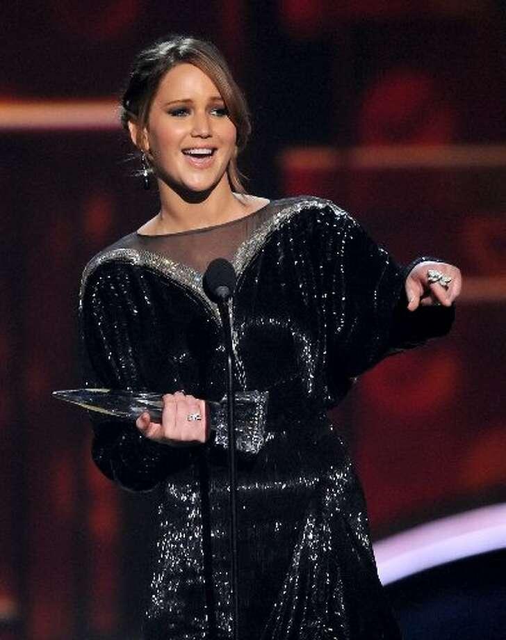 Jennifer Lawrence was winner of Favorite Movie Actress.