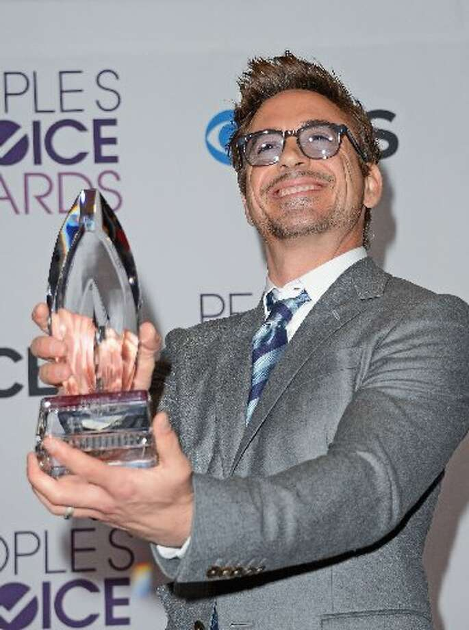 Robert Downey Jr., winner of Favorite Movie Actor.