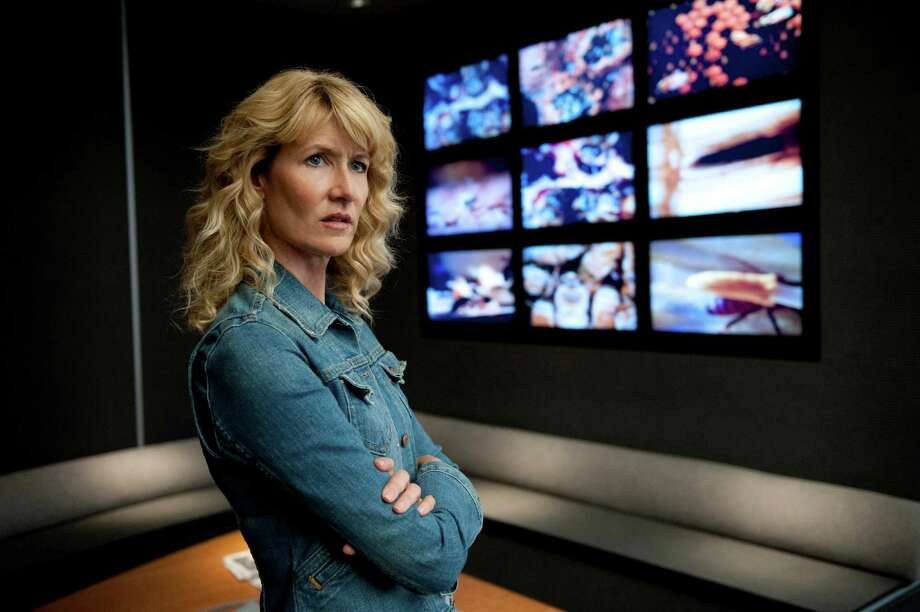 Laura Dern is both engaging and unsettling as an unhappy employee intent on exposing the sins of the big company where she works. Photo: HBO / LACEY TERRELL