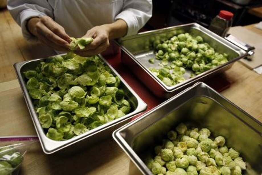 Apparently Americans know what's good for them. At 69 percent, Americans have higher opinion of Brussels sprouts than of Congress. (AP Photo)