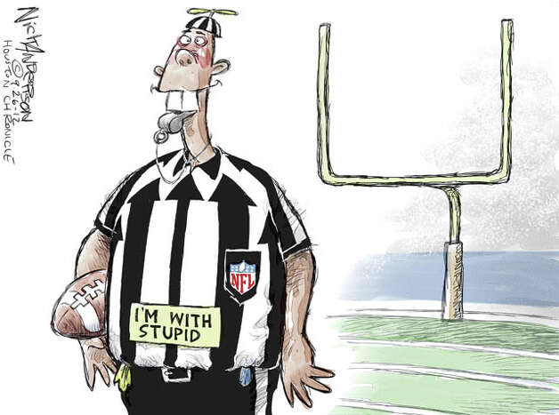 Remember the chaos that ensued when NFL brought in replacement refs in 2012? Well, 56 percent of Americans think they did a better job than Congress. Ouch.