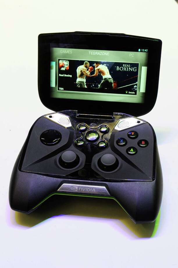 The Nvidia Corp. Shield gaming device. Photo: David Paul Morris, Bloomberg / © 2013 Bloomberg Finance LP