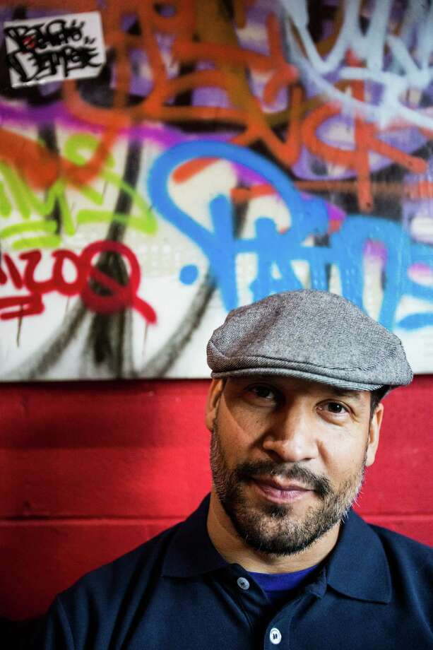 Andre Sam-Sin aka DJ Sun, photographed in Houston at Boheme bar. He has a new CD coming out Jan. 19. Photo: Eric Kayne / © 2012 Eric Kayne