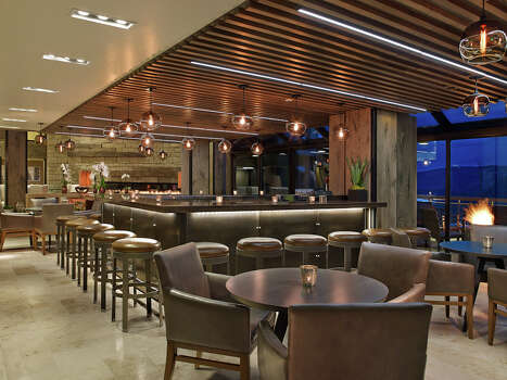 The lobby bar at the new Westin Snowmass Resort / Westin