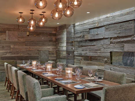 The private dining room at Snowmass Kitchen / Westin