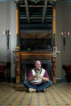 Interior designer Todd-Avery Lenahan poses for a portait at the newly revamped Hotel Jerome, Saturday, Dec. 8, 2012, in Aspen. ( Michael Paulsen / Houston Chronicle )` Photo: Michael Paulsen, Staff / © 2012 Houston Chronicle