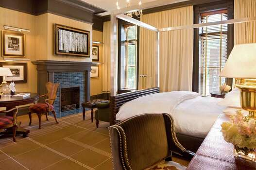 The 93 Western-chic rooms and suites at the Hotel Jerome in Aspen have been updated by Las Vegas based celebrity designer Todd Avery-Lenahan. Photo: David O. Marlow, Photographer