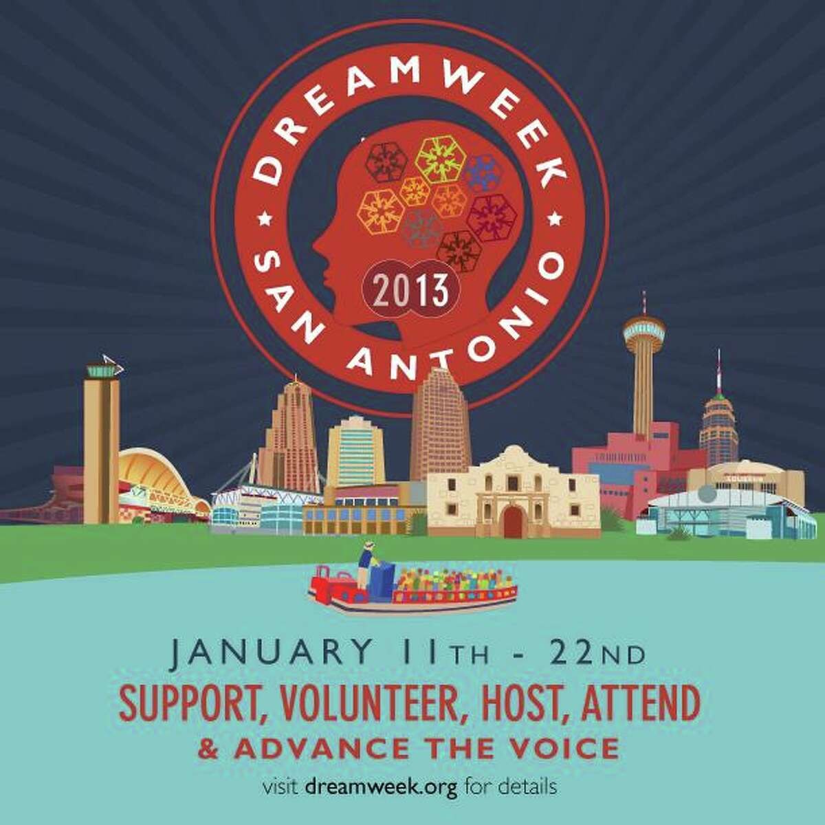 DreamWeek is a 12-day celebration of diversity and tolerance promoting an exchange of ideas on universal issues to be held throughout the downtown area.