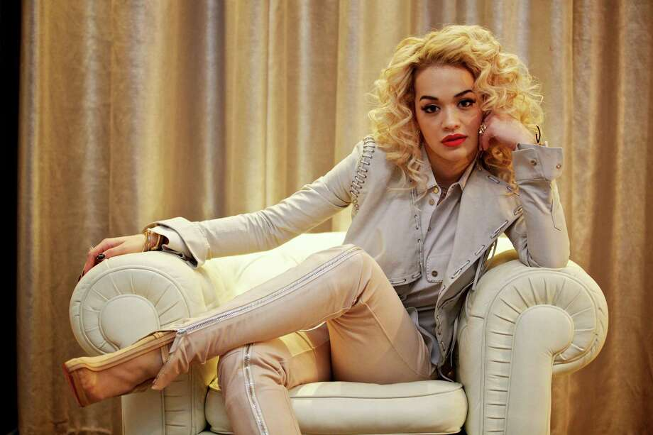 The carefree style of British singer Rita Ora, a Jay-Z protege, appeals to designers, with a blend of hip-hop, bling and '90s Gwen Stefani. Photo: New York Times / NYTNS
