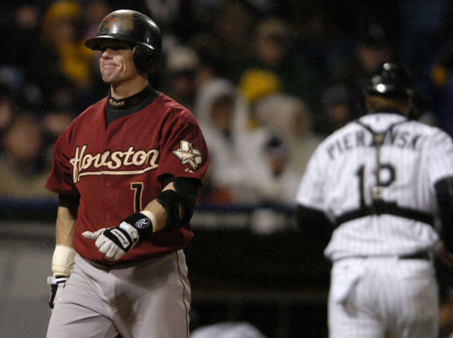 In October of 2005 Biggio helped lead the Astros to their first World Series appearance in franchise history. The Photo: MELISSA PHILLIP