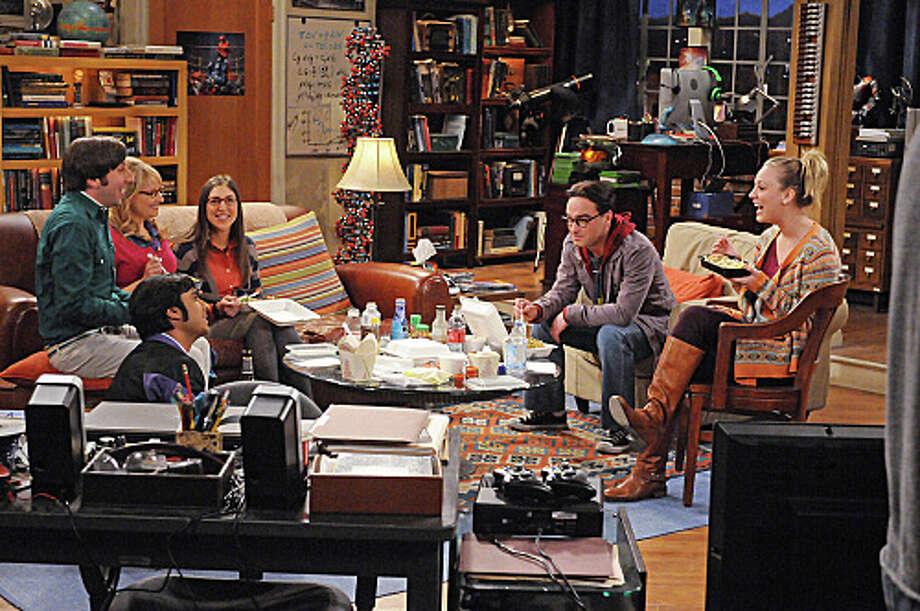 The Big Bang Theory: 7 p.m. CBSReturns Jan. 3 Photo: MICHAEL YARISH / �©2012 Warner Bros. Television All Rights Reserved