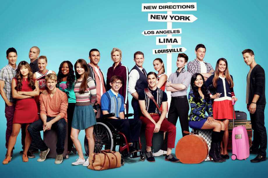 "The entire cast of ""Glee."""
