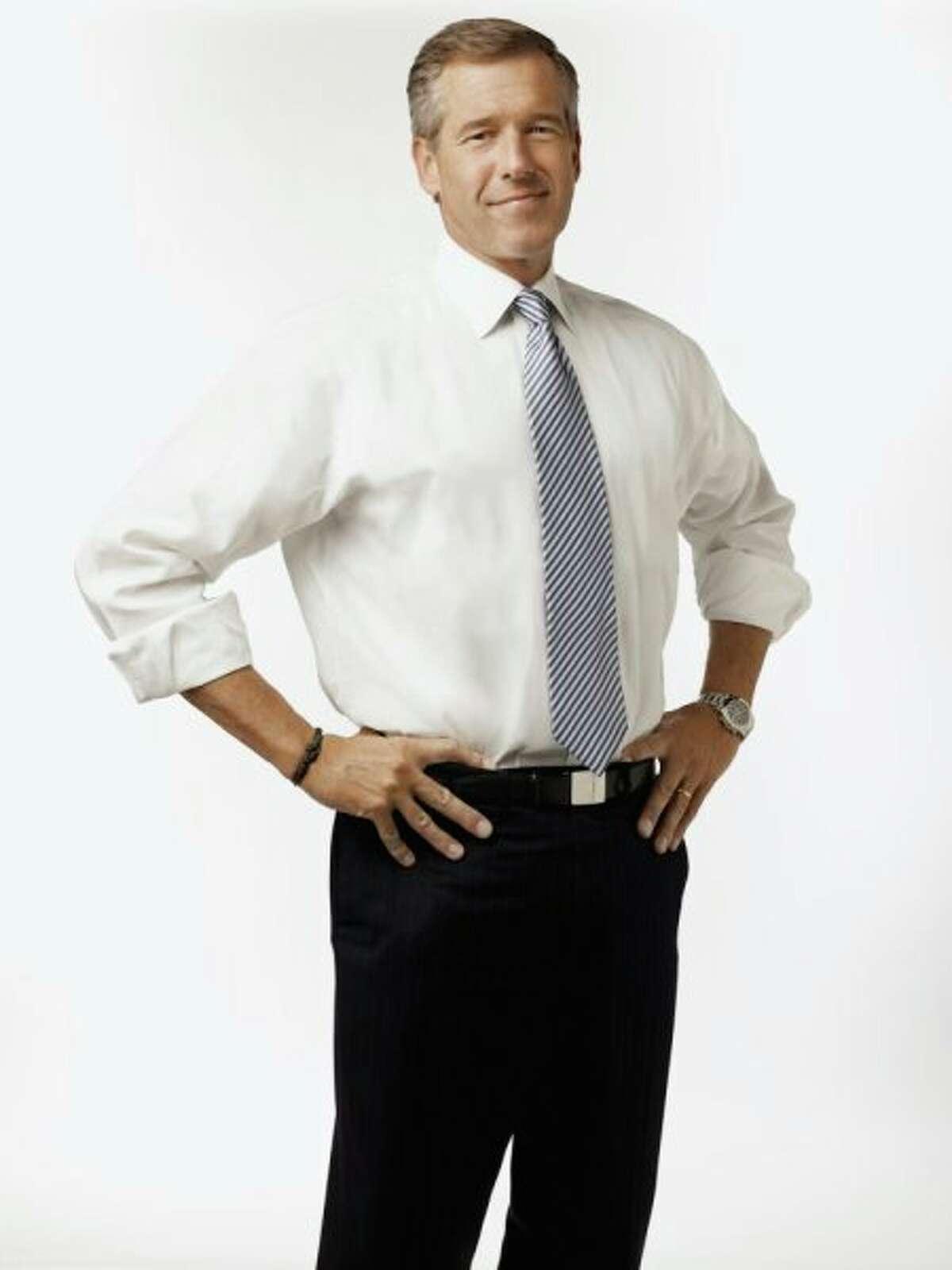 NBC news anchor Brian Williams.