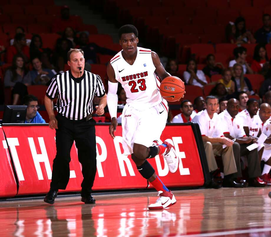 Danuel House scored a career-high 28 points in Wednesday's victory. (Courtesy of UH Athletics)