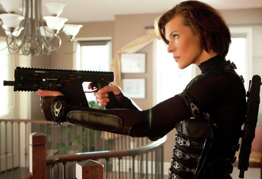 Worst Actress nominee: Milla Jovovich, in Resident Evil: Retribution. Has Jovovich ever been good in a movie? Photo: Rafy, Screen Gems / © 2011 Davis Films/Impact Pictures (RE5) Inc. and Constantin Film